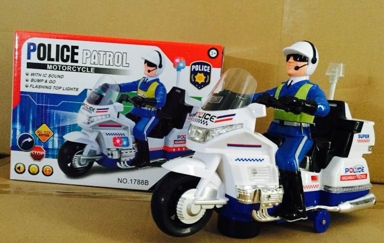 Xe moto cảnh sát 1788B (48/T)