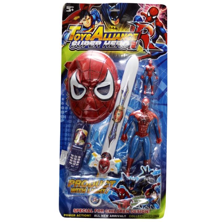 Vỉ siêu nhân mặt nạ nhện 3385A (36/T)