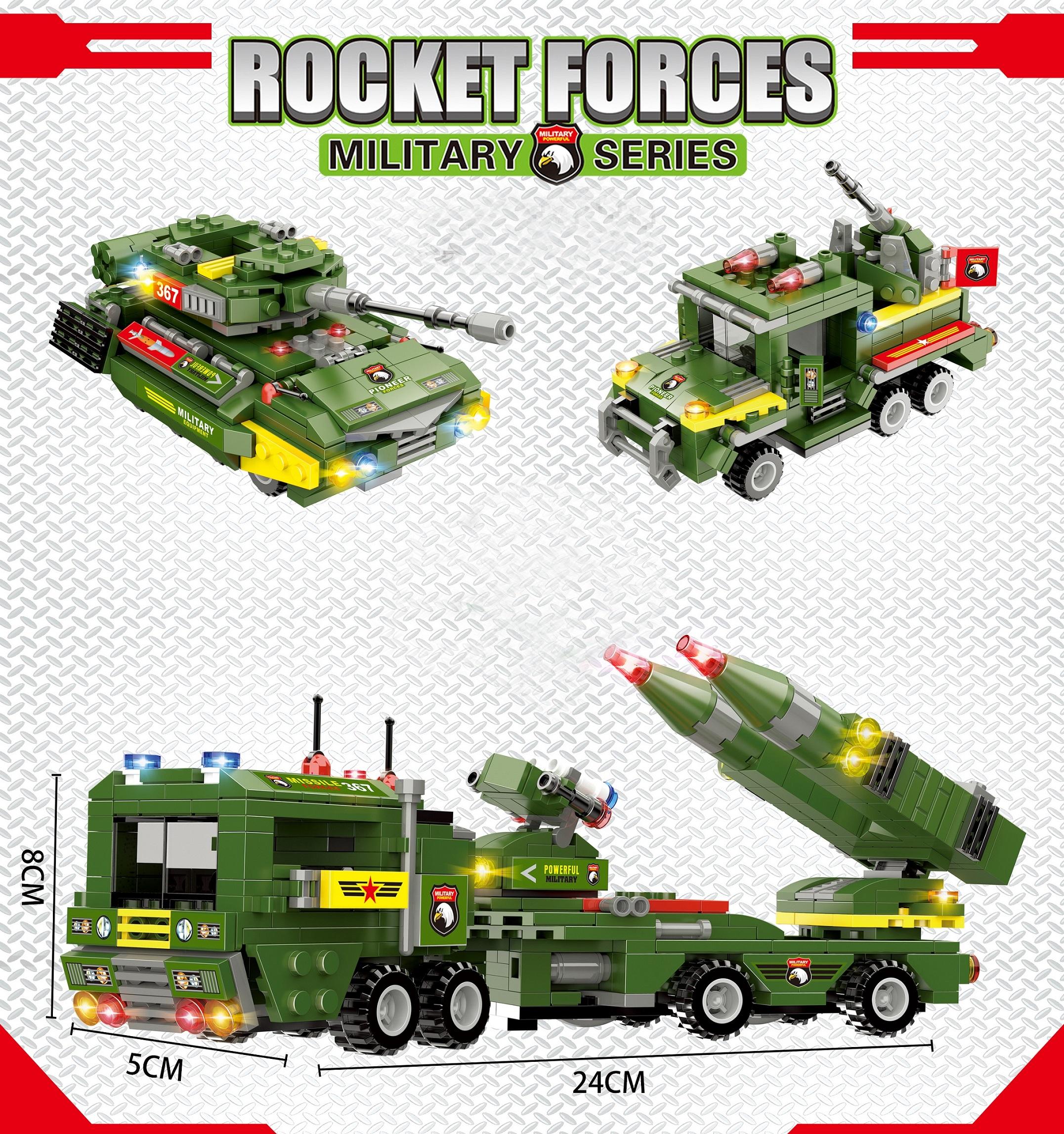 Bộ ghép hình quân sự LX.A367