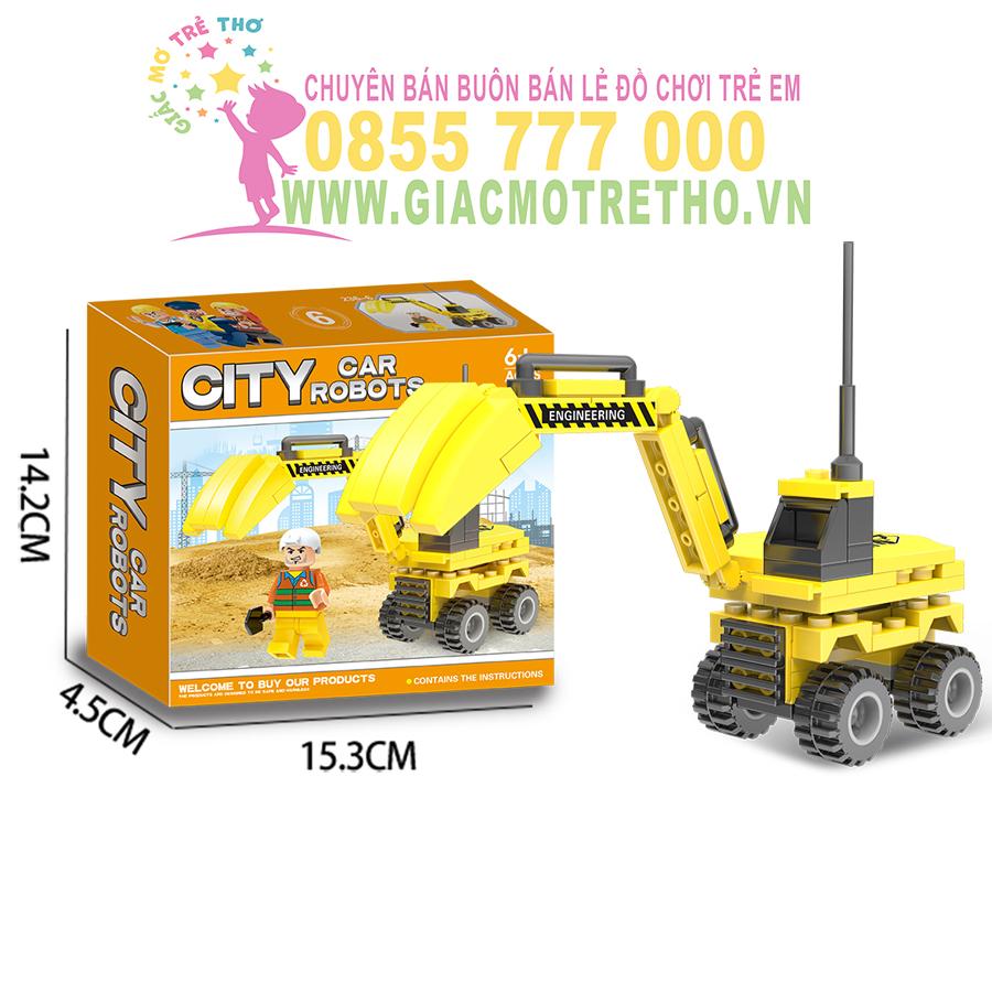 Bộ ghép hình ROBOT LX.A236