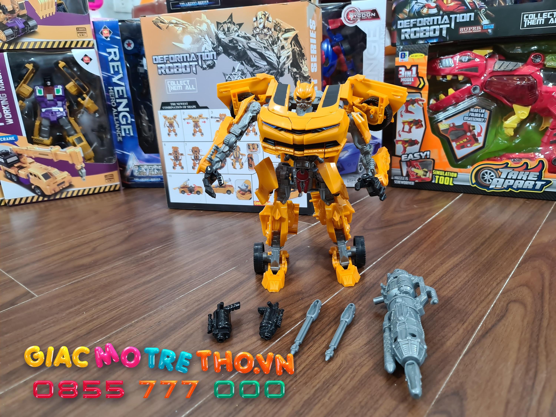 Hộp robot biến hình 8814A