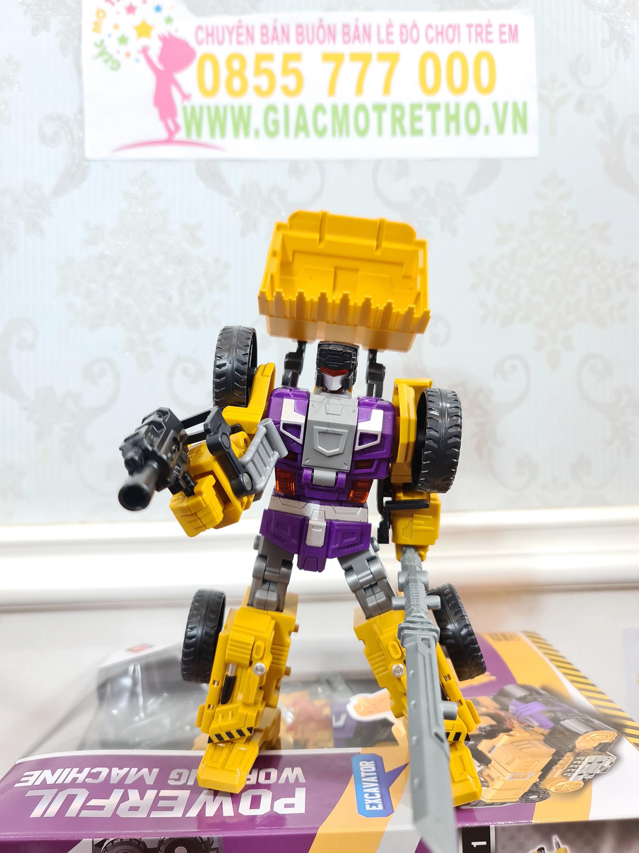 Robot biến hình JJ625C