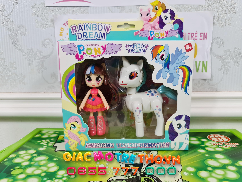 Đồ chơi ngựa Pony 83168-FF1 (120T)