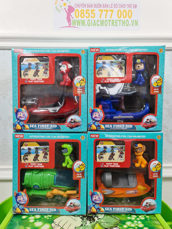 Hộp đồ chơi chó cứu hộ 553-167 (60T)