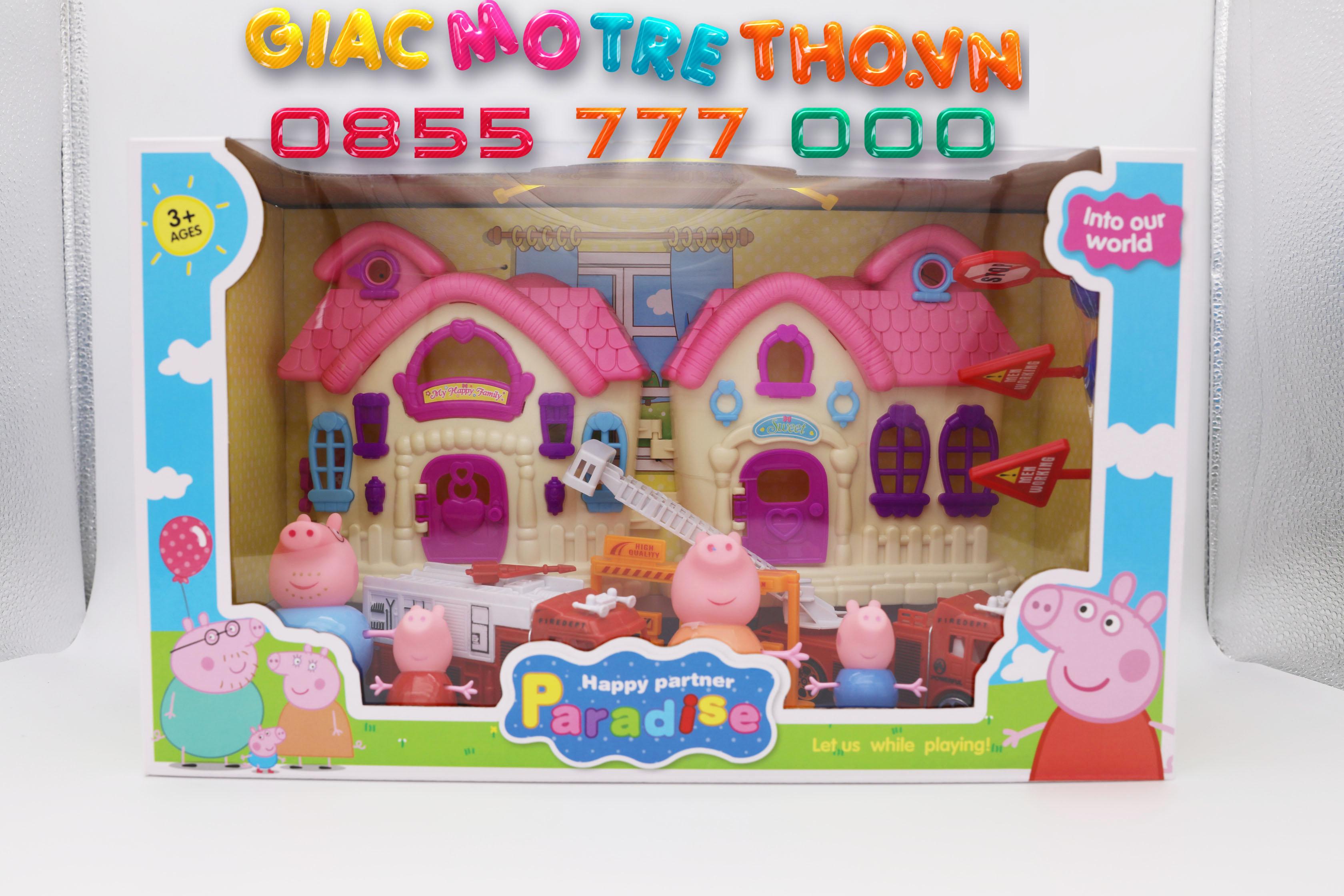 Hộp đồ chơi Peppa Pig YM882 (24T)