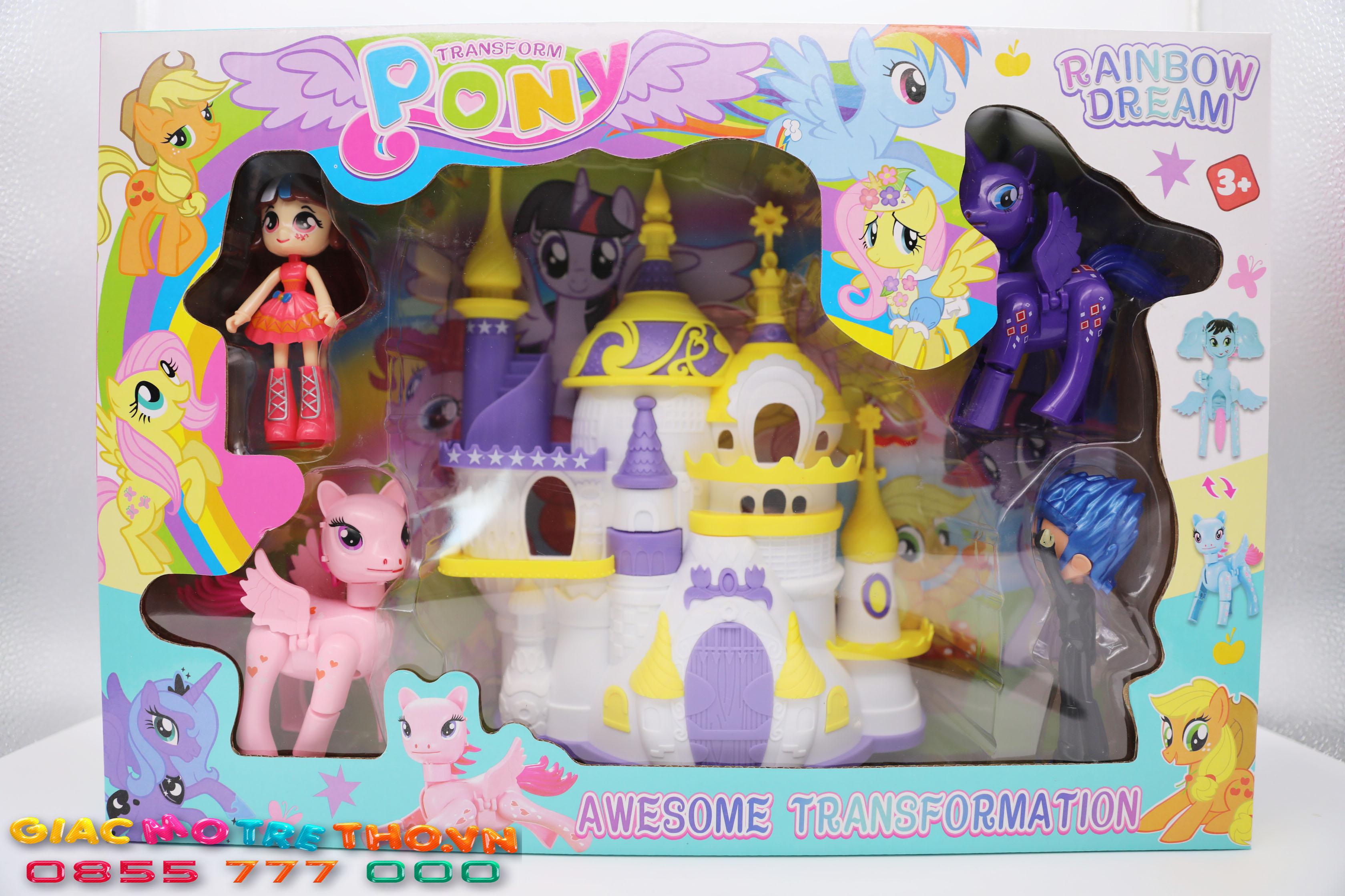 Lâu đài Pony 83168-FF6 (20T)