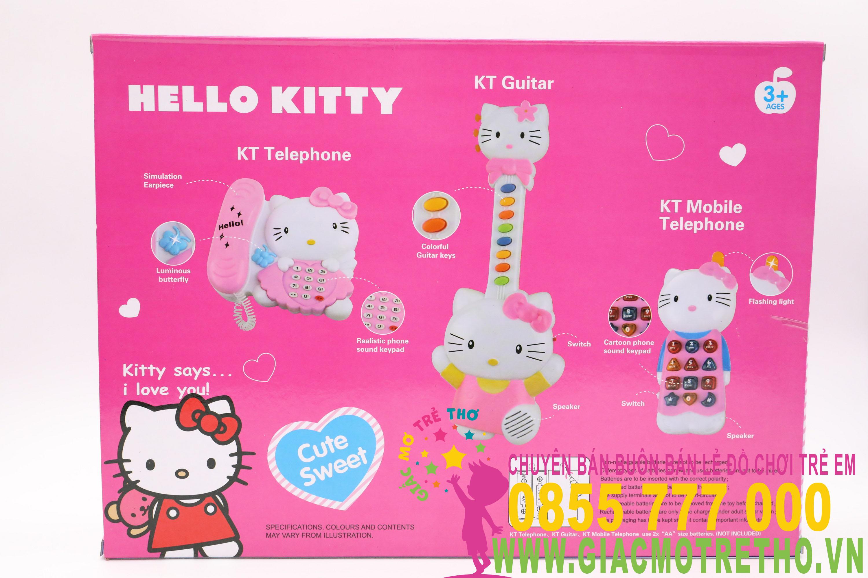 Đàn kitty 3 món KT1203 (48T)