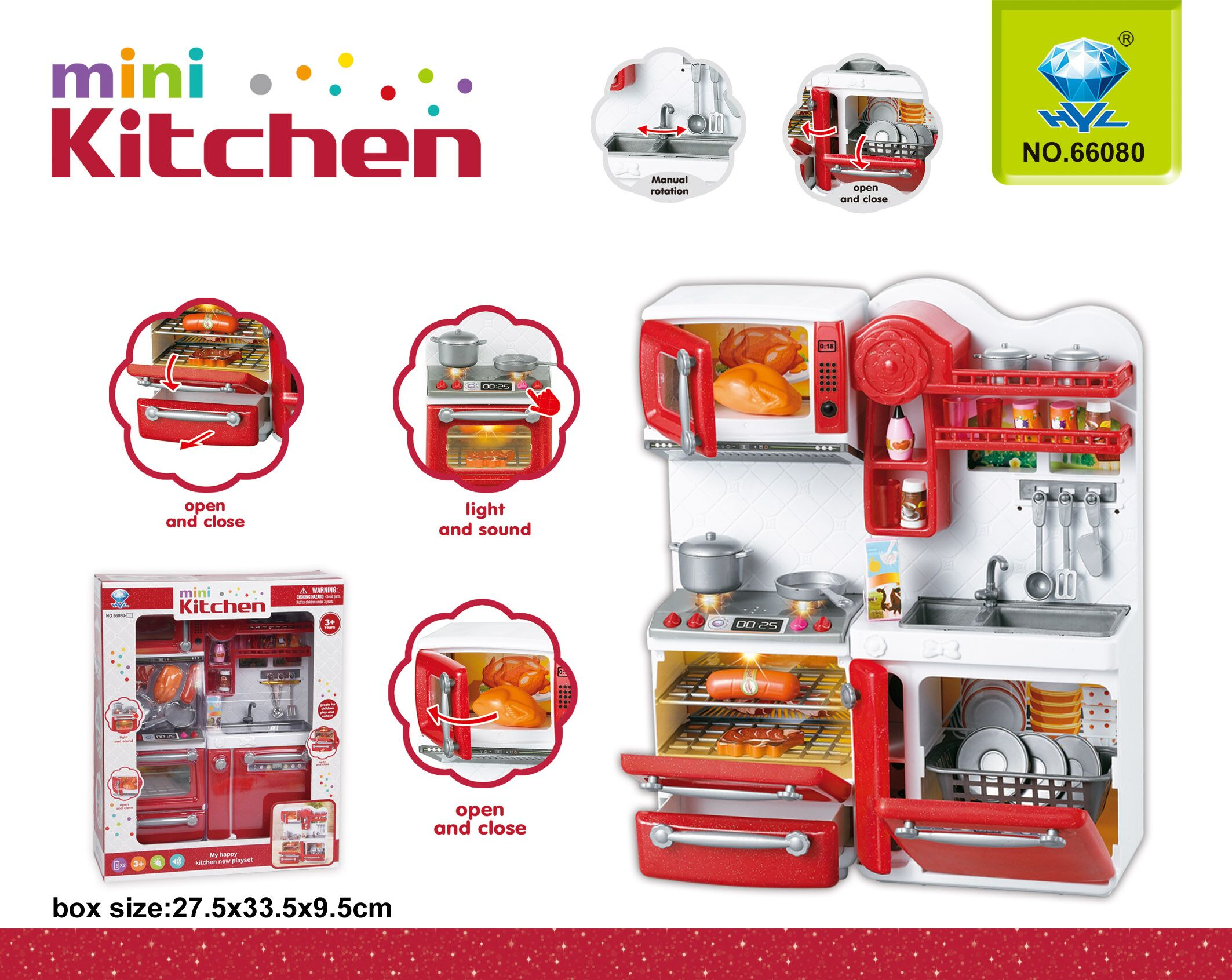 Hộp bếp Mini Kitchen 66080
