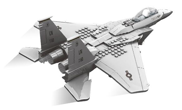 Bộ ghép hình máy bay chiến đấu Legion 4004