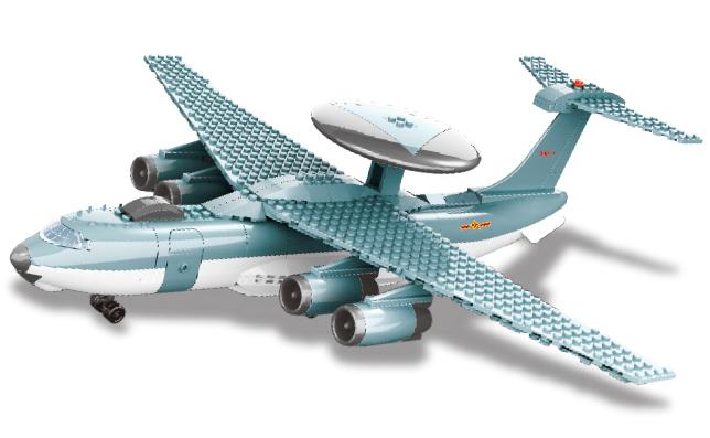 Bộ ghép hình máy bay chiến đấu Legion 5005