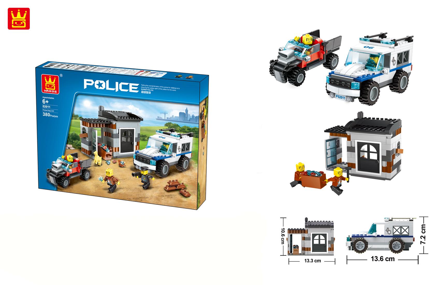 Bộ ghép hình Police Legion 52011