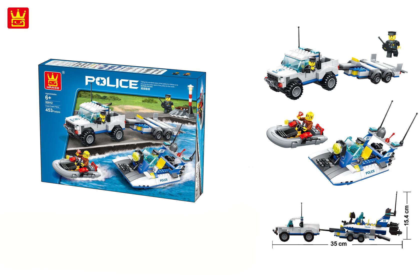 Bộ ghép hình Police Legion 52012