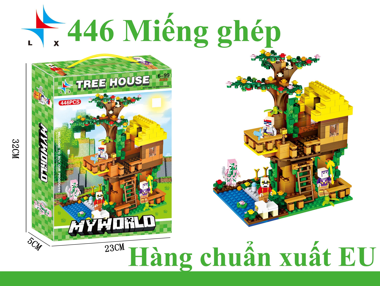 Bộ đồ chơi ghép hình  MYWORLD LX. A302