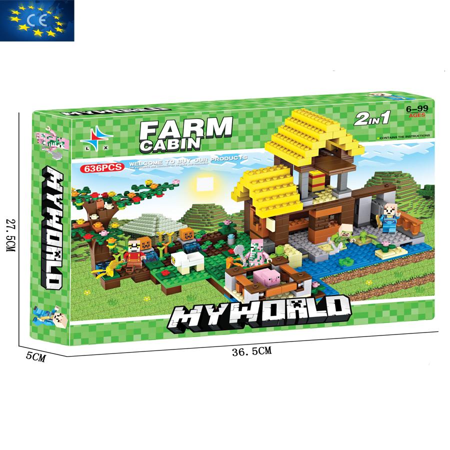 Bộ đồ chơi ghép hình  MYWORLD LX.A305