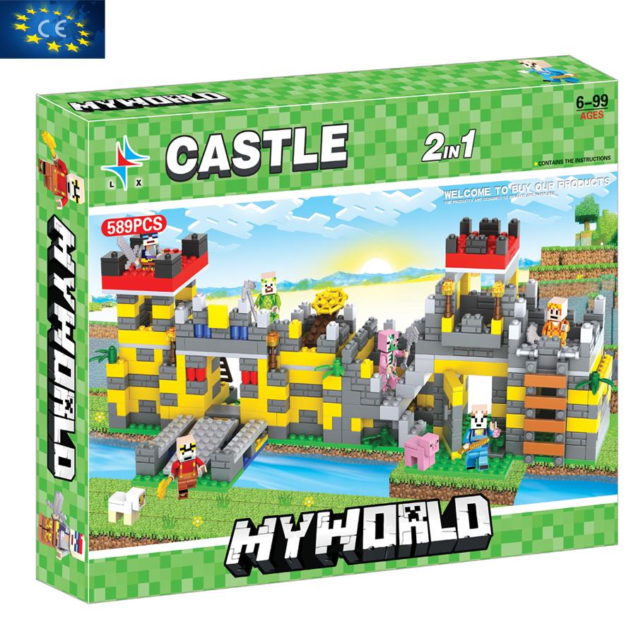 Bộ đồ chơi ghép hình  MYWORLD  LX.A306
