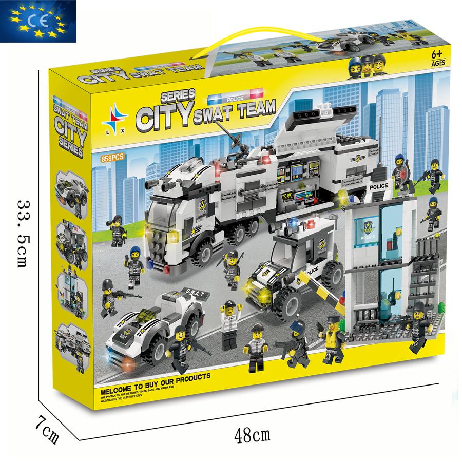 Bộ đồ chơi ghép hình CITY SWAT LX. A331