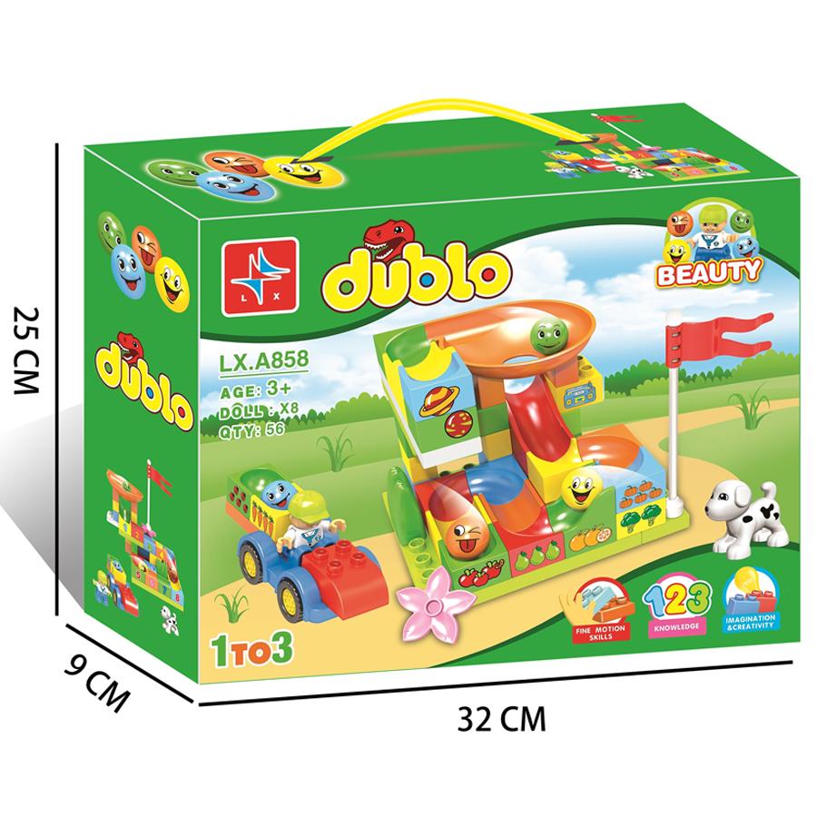 Bộ ghép hình DUBLO LX.A858